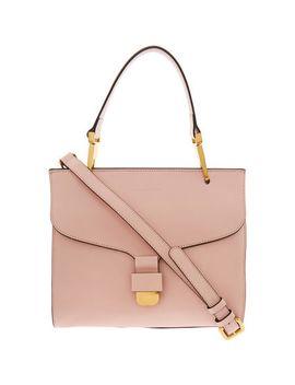 pink-leather-shoulder-bag by coccinelle