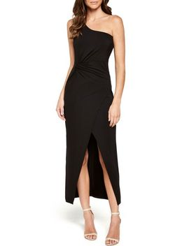 avril-one-shoulder-maxi-dress by bardot
