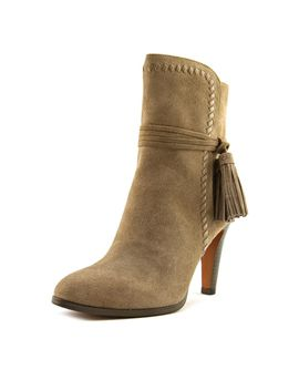 coach-jessie-ankle-boot-women--round-toe-suede-tan-ankle-boot by coach