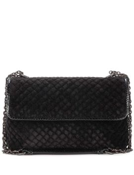 baby-olimpia-velvet-and-snakeskin-shoulder-bag by bottega-veneta