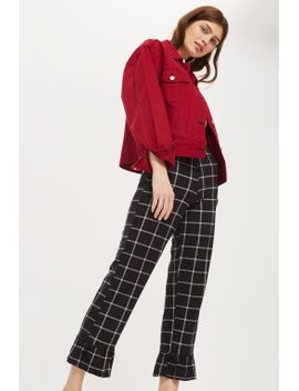 window-checked-trousers by topshop