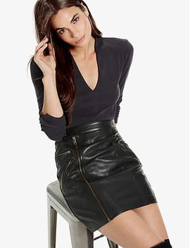 leather-moto-skirt by lucky-brand