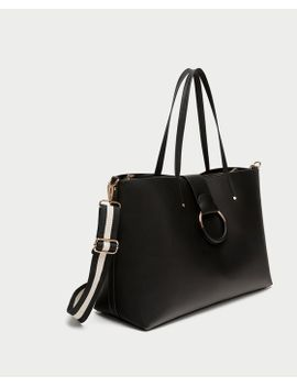 sac-shopper-anse-bicolore by zara