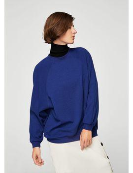 strukturiertes-sweatshirt by mango