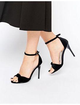 faith-layland-velvet-twist-front-heeled-sandals by faith