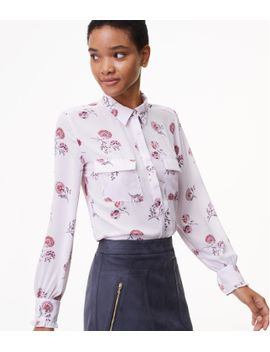 petite-dahlia-garden-utility-blouse by loft