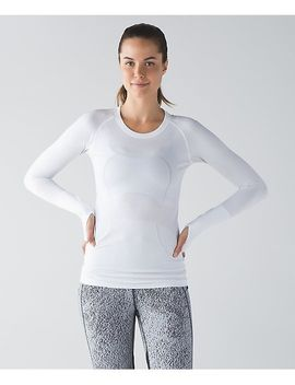 lulu-lululemon-long-sleeve-pure-color-yoga-running-t-shirt-2-colors-dx004 by ali-express