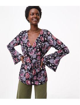 petite-dahlia-garden-kimono-blouse by loft