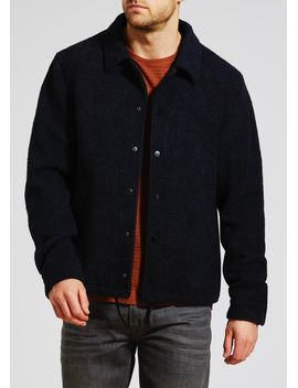 wool-blend-coach-jacket by matalan