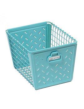 macklin-medium-basket-in-teal by bed-bath-and-beyond