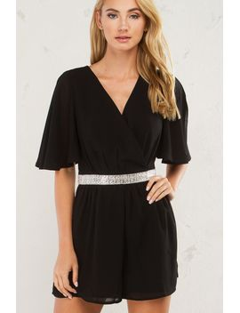 someone-like-you-jewel-trim-romper by akira