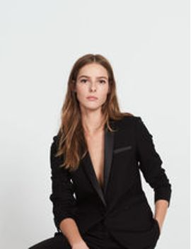 tailored-jacket-in-wool by sandro-eshop