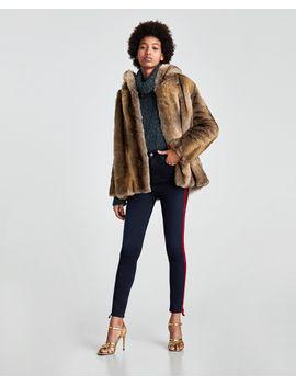 the-high-waist-jeans-in-estilla-blue--bottomssale-woman by zara