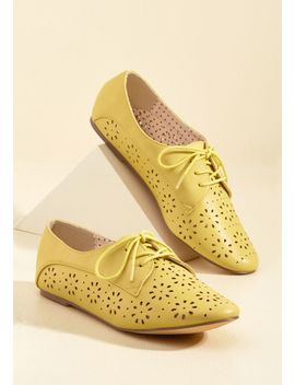 bait-footwear-toss-in-blossoms-oxford-flat by bait-footwear