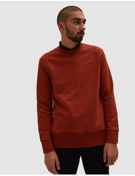 chunky-hem-sweatshirt-in-brass by raf-simons-x-fred-perry