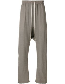 dropped-crotch-track-pants by rick-owens