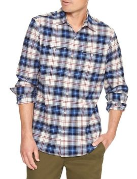 print-two-pocket-flannel-shirt by gap