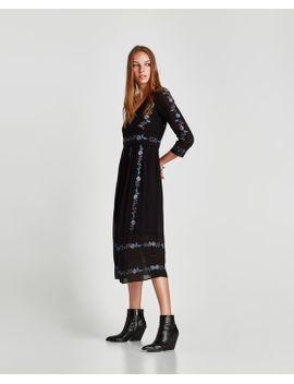 plumetis-jurk--alles-bekijkenjurken-trf by zara