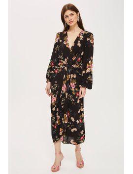 **floral-print-kimono-sleeve-maxi-dress-by-yas by topshop