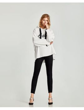 legging-in-suÈdelook by zara