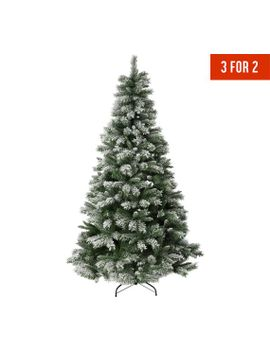 argos-home-7ft-snow-covered-christmas-tree---green411_4552 by argos