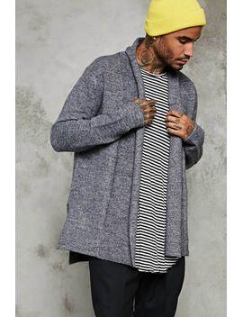 shawl-collar-woolen-cardigan by forever-21