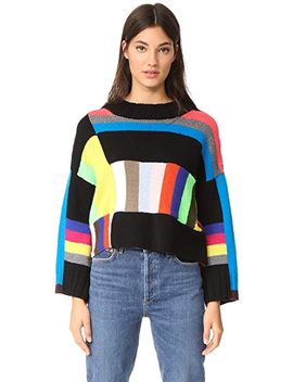 rio-grande-stripe-cashmere-sweater by spencer-vladimir