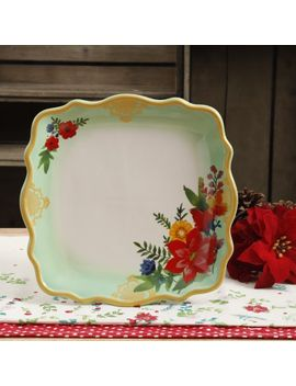 the-pioneer-woman-winter-bouquet-105-inch-dinner-plate by the-pioneer-woman
