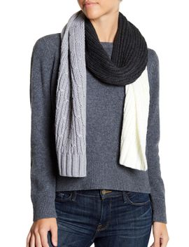 colorblock-ribbed-cable-knit-muffler by michael-michael-kors