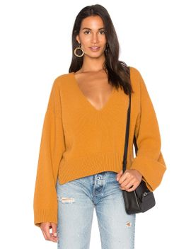 deep-v-neck-sweater by nude