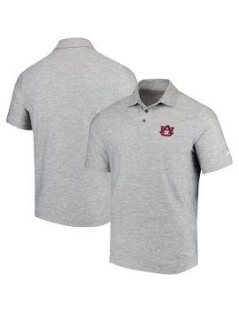 auburn-tigers-under-armour-collegiate-elevated-performance-polo---heathered-gray by under-armour