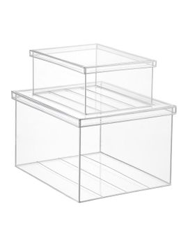 clear-lookers-boxes by container-store