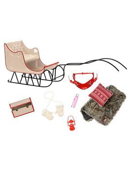our-generation-winter-wonder-holiday-doll-sleigh by shop-this-collection