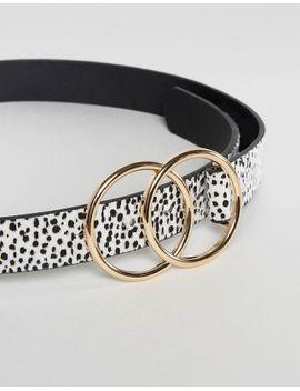asos---ceinture-taille-ou-hanches-motif-léopard-avec-double-cercle by asos-collection