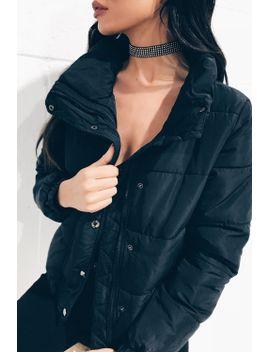 vivienne-black-puffer-jacket by misspap