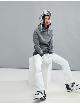 oneill-ski-logo-hooded-fleece-basselayer by oneill