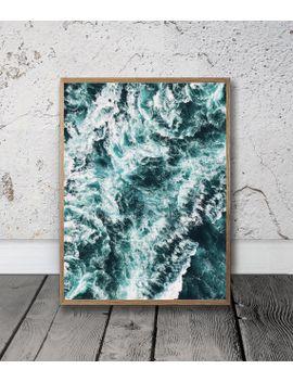 sea,-digital-download,-printable-wall-art,-office-decor,-printable,-blue,-ocean,-nature,-minimalist,-art-prints,-bedroom-art,-wall-decor, by etsy