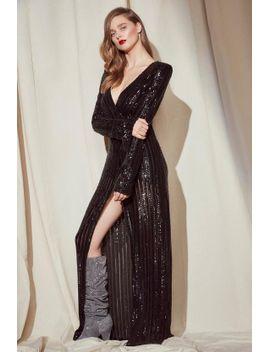 nasty-gal-studio-diana-sequin-maxi-dress by nasty-gal