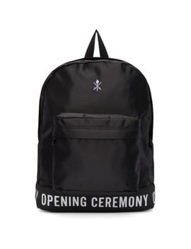 black-legacy-logo-backpack by opening-ceremony