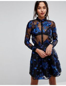 yas-floral-embroidered-sheer-blouse by yas