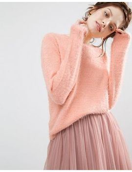 willow-and-paige-fluffy-sweater by willow-&-paige