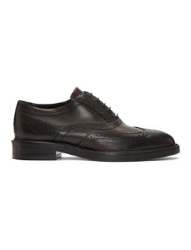 black-gennie-brogues by burberry