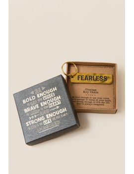 give-back-collection:-be-bold-boxed-key-chain by francescas