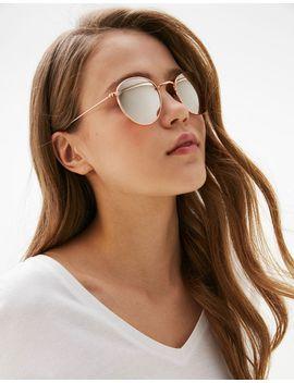 lunettes-monture-métal-classique by bershka