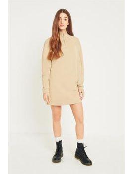 bdg-–-sweatshirt-kleid-mit-ziernähten-und-kurzem-reißverschluss by bdg-shoppen