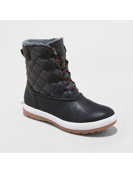Shoptagr   Women's Lauren Quilted Winter Boots Mossimo Supply Co ... : quilted winter boots - Adamdwight.com