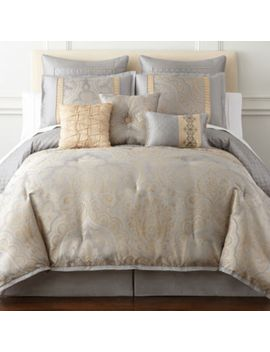 home-expressions-carlisle-7-pc-comforter-set by home-expressions