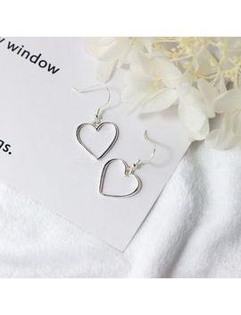 a'roch---925-sterling-silver-heart-drop-earrings by a'roch
