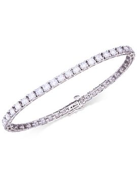 certified-diamond-tennis-bracelet-(6-ct-tw)-in-14k-white-gold by macys