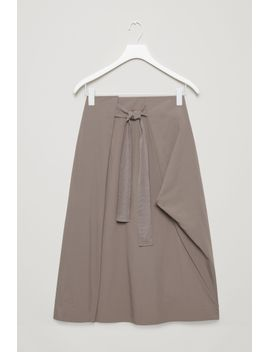 technical-a-line-skirt by cos
